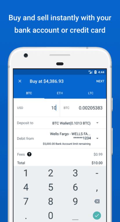 coinbase mobile verification