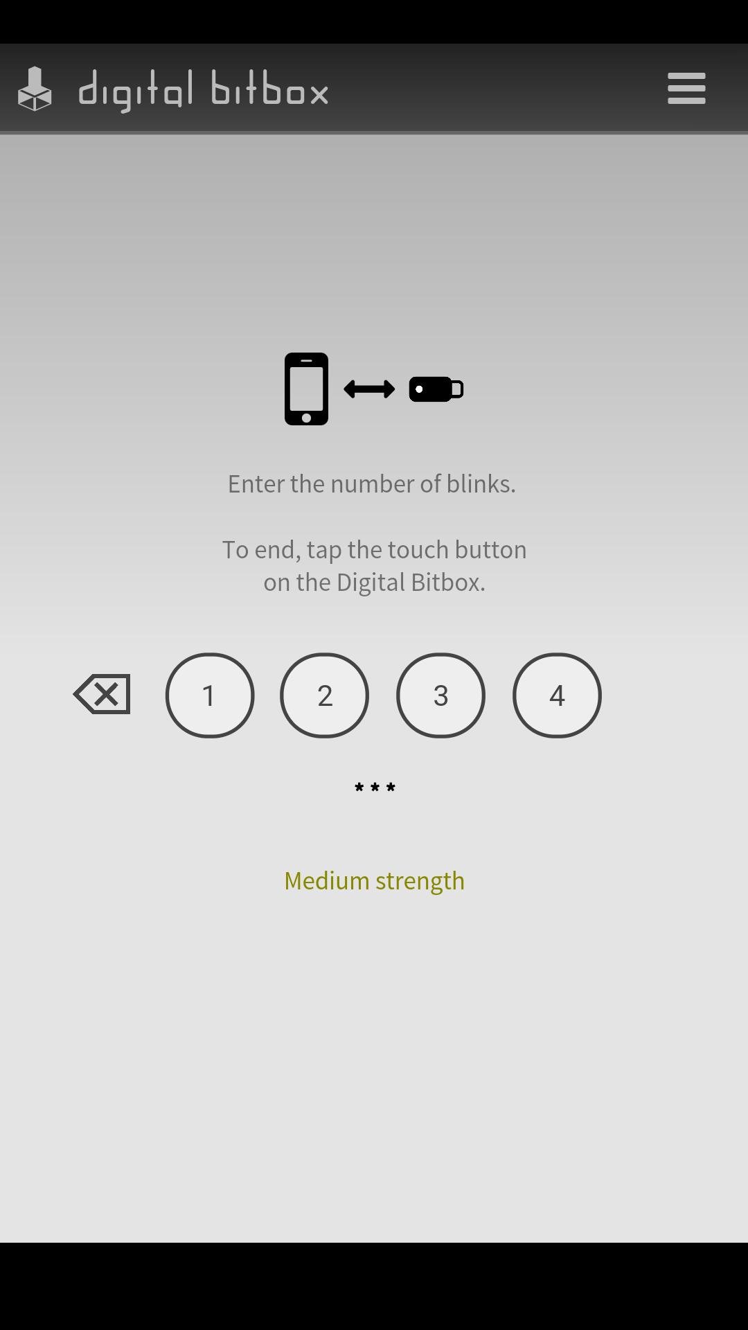 Digital Bitbox Mobile App Setup for bitcoin wallet