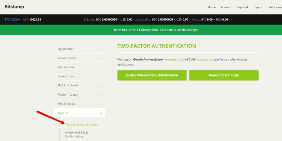 Bitstamp Authentication 1