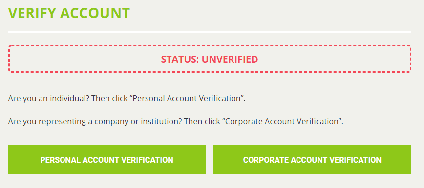 Bitstamp.net review - verification