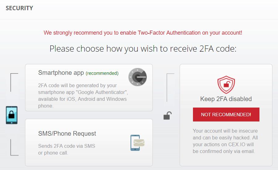 CEX exchange Authentication 1