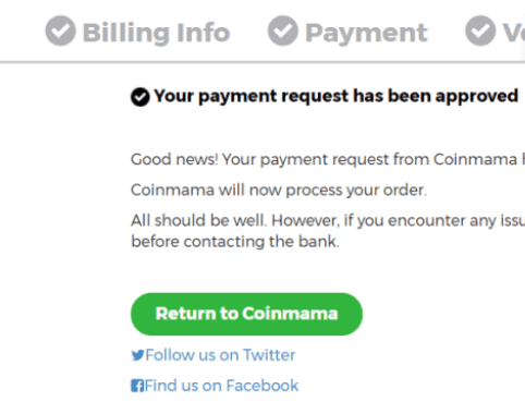 Coinmama Purchase 7