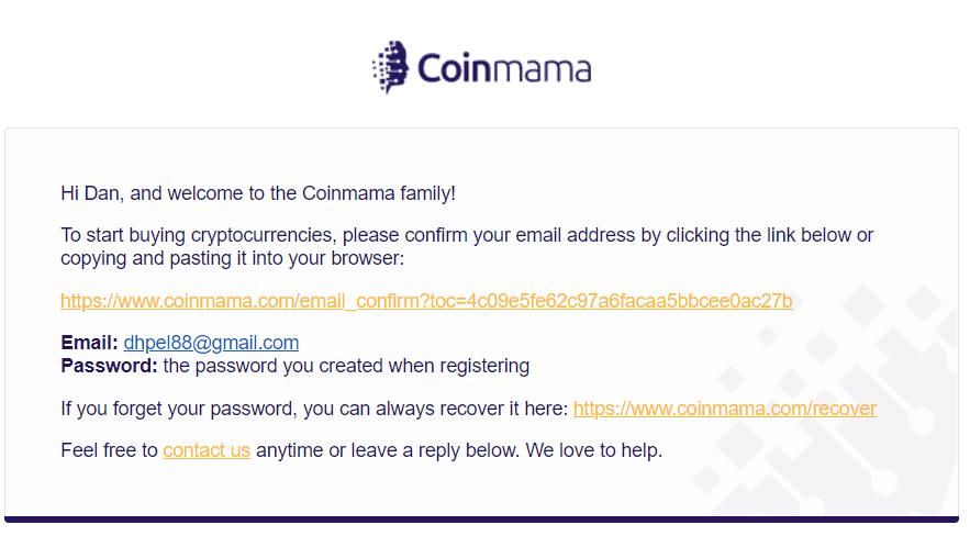 Coinmama Signup 3