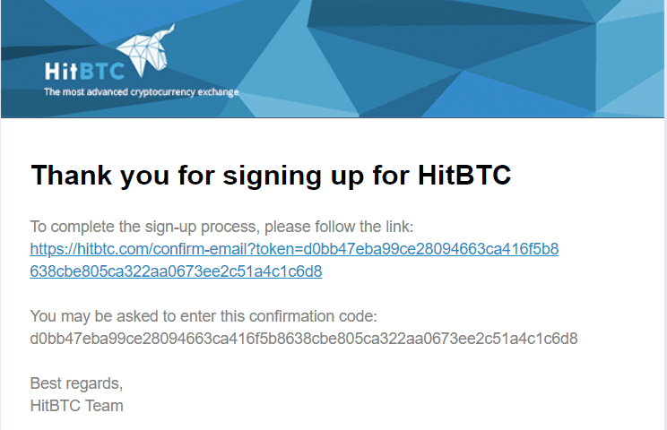 HitBTC Crypto Exchange