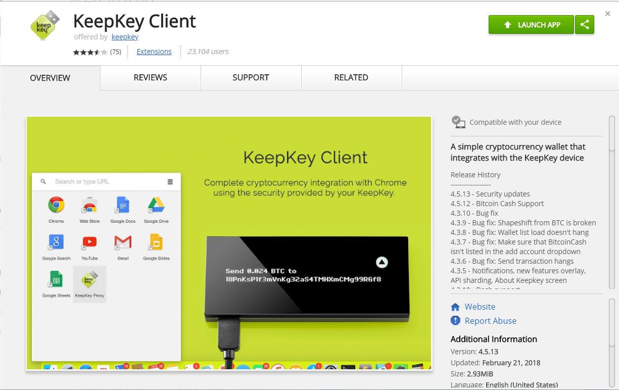 KeepKey App Install