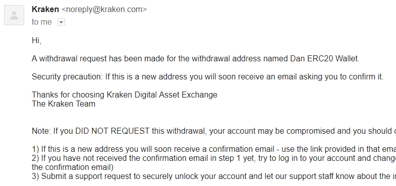 Kraken bitcoin exchange withdraw cryptocurrency 7