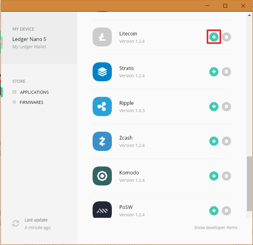 Ledger Manager App