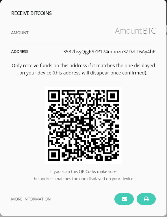 Ledger Nano Receive Bitcoin