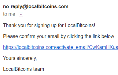 LocalBitcoins Signup 3