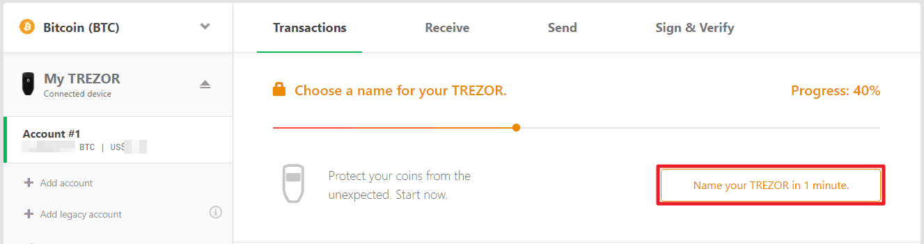 Recovering Trezor wallet