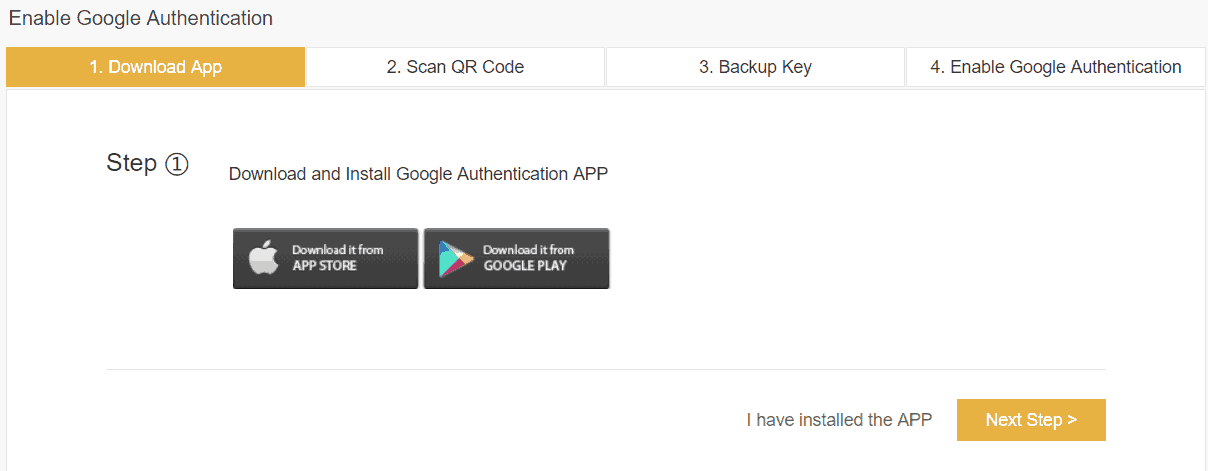 Binance Google Authenticator