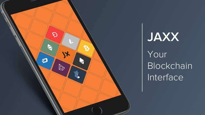 Jaxx blockchain interface