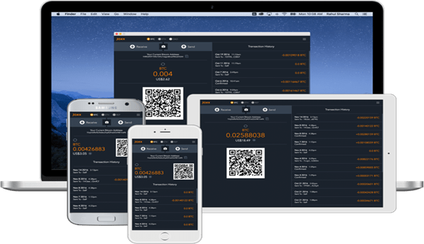 Jaxx wallet review - compatibility - mobile app, desktop, Chrome browser