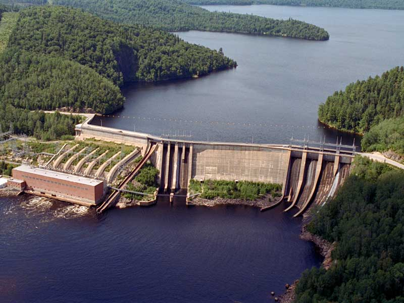 Hydro Quebec Trench Dam