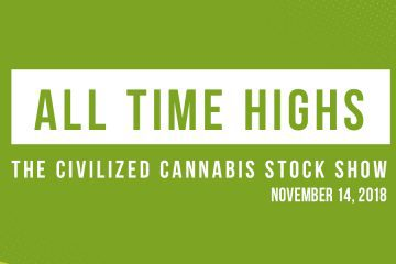 All Time Highs - The Civilized Cannabis stock show