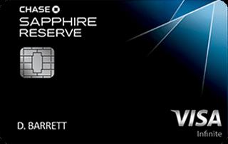 Chase Sapphire Reserve Visa