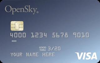 OpenSky Secured Visa