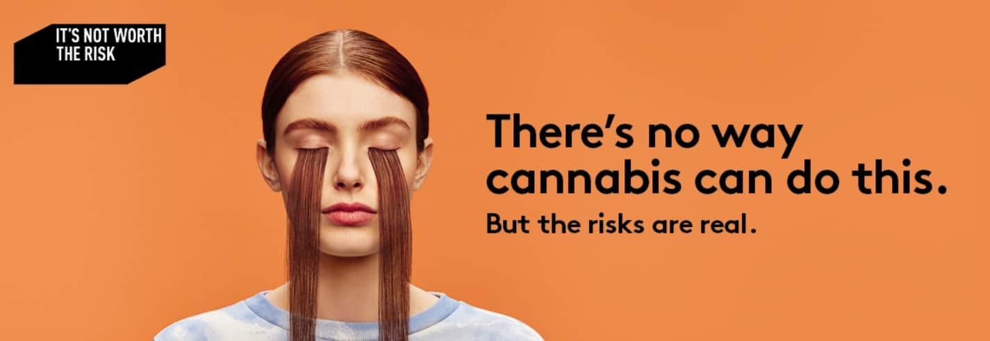Marijuana ad - cannabis in Quebec 2
