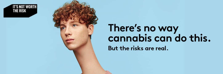 Marijuana ad - cannabis in Quebec